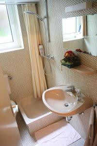 A bathroom at Apartment Centrum im Grünen
