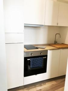A kitchen or kitchenette at Gemütlich und Zentral in Boppard