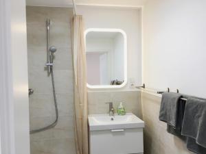 A bathroom at Gemütlich und Zentral in Boppard