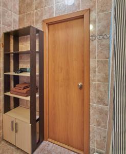 Ванная комната в Apartments Podlesnaya 43A