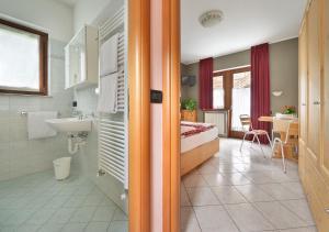 Koupelna v ubytování Appartamenti Astra