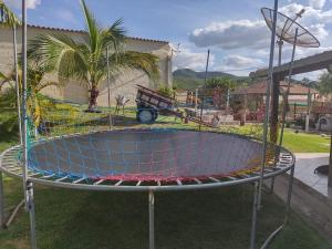 Children's play area at Pousada Só Alegria