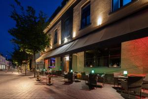 A restaurant or other place to eat at Boutique Hotel Scheepers
