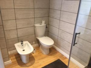 Salle de bains dans l'établissement Chez Thomas 7 Route du Monde Ancien