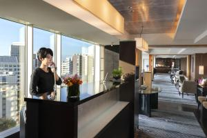 The lobby or reception area at Hotel New Otani Tokyo EXECUTIVE HOUSE ZEN