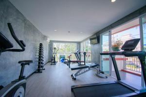The fitness center and/or fitness facilities at Kiang Haad Beach Hua Hin