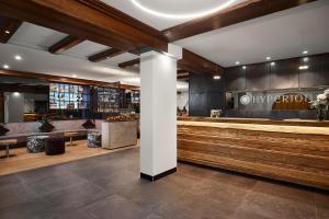 The lobby or reception area at Hyperion Hotel Garmisch – Partenkirchen