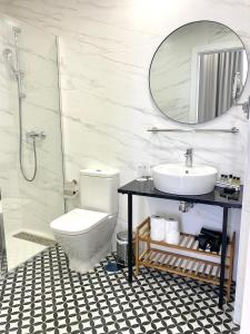 Een badkamer bij Soho Boutique Urban