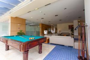A pool table at My Story Hotel Vila Nova