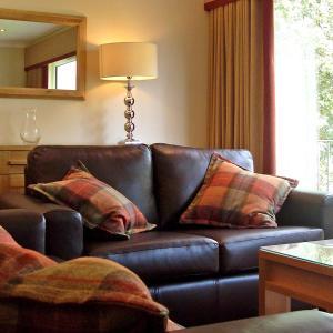 A seating area at Macdonald Plas Talgarth Resort