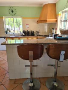 Küche/Küchenzeile in der Unterkunft Casa dos Ventos