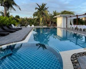 The swimming pool at or near Baan Thai House