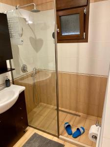 Ein Badezimmer in der Unterkunft Pachmann Apartments