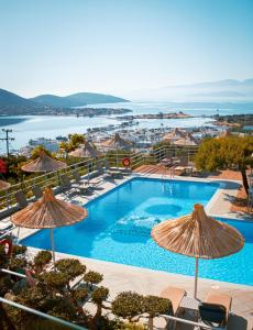 A view of the pool at Elounda Heights (Adults Only) or nearby