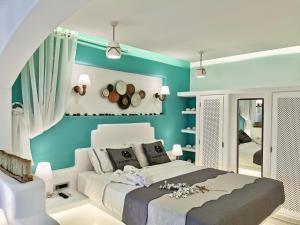 Un ou plusieurs lits dans un hébergement de l'établissement Anastasia Princess Luxury Residence & Spa- Adults Only