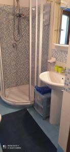 A bathroom at dgs palinuro
