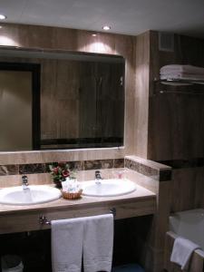 A bathroom at Santiago
