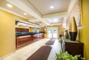 The lobby or reception area at Suburban Extended Stay Hotel Wash. Dulles