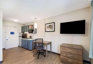 A television and/or entertainment center at Suburban Extended Stay Hotel Wash. Dulles
