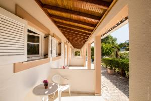 A balcony or terrace at Paradise Village