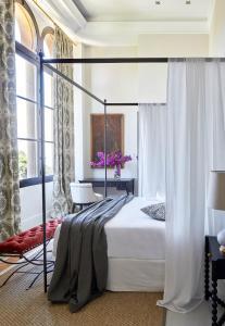 Cama o camas de una habitación en Soho Boutique Castillo de Santa Catalina