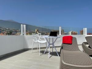 Een balkon of terras bij Hotel Valle Orotava