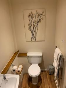 A bathroom at The Midland Hotel