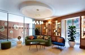 The lobby or reception area at Atocha Hotel Madrid, Tapestry Collection by Hilton