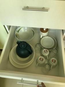 A kitchen or kitchenette at Rooms MD y FS
