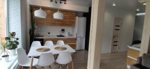 Кухня или мини-кухня в Усадьба в горах