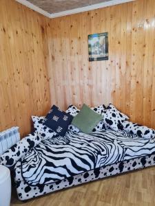 Кровать или кровати в номере Дом у Груши