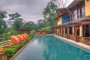 The swimming pool at or near Nayara Springs - Adults Only