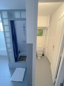 A bathroom at Chambres d'hôtes et Gîte Felicidade