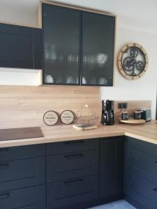 Een keuken of kitchenette bij La casa d'Ernestine