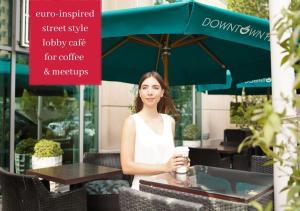 The lobby or reception area at Ramada Downtown Dubai