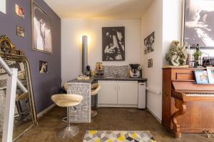 A kitchen or kitchenette at Loft Domloc
