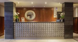 The lobby or reception area at DoubleTree by Hilton Stratford-upon-Avon, United Kingdom