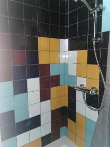 A bathroom at The Poacher Portishead