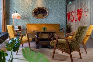 Zona de estar de Smarthotel Oslo