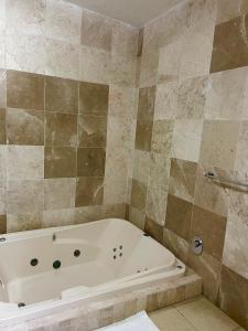 Un baño de Hotel Posada El Encanto