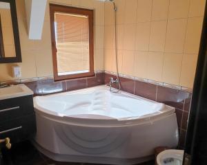 A bathroom at Pension Delta Miraj