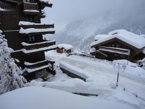 L'établissement La Dent Du Villard en hiver