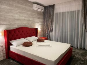 A bed or beds in a room at Casa CLB