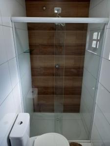 A bathroom at Pousada Schueng