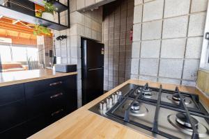 A kitchen or kitchenette at Grampians Getaway
