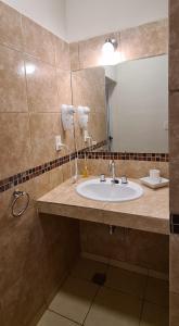 Un baño de Cable Carril