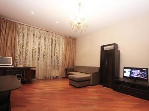 Телевизор и/или развлекательный центр в ApartLux Университет