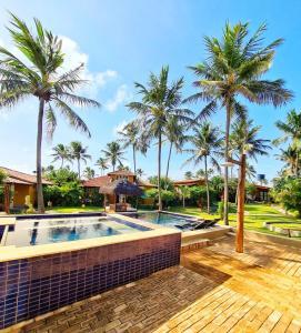 The swimming pool at or close to Pousada Spa dos Amores