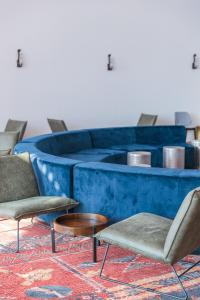 A seating area at Daniel Dead Sea Hotel