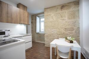 A cozinha ou kitchenette de Solar Valadim - serviced apartments